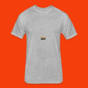 monster jack logo - Fitted Cotton/Poly T-Shirt by Next Level