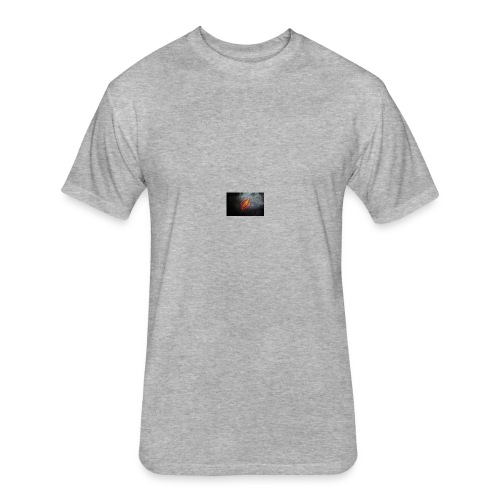 Flash Logo - Fitted Cotton/Poly T-Shirt by Next Level