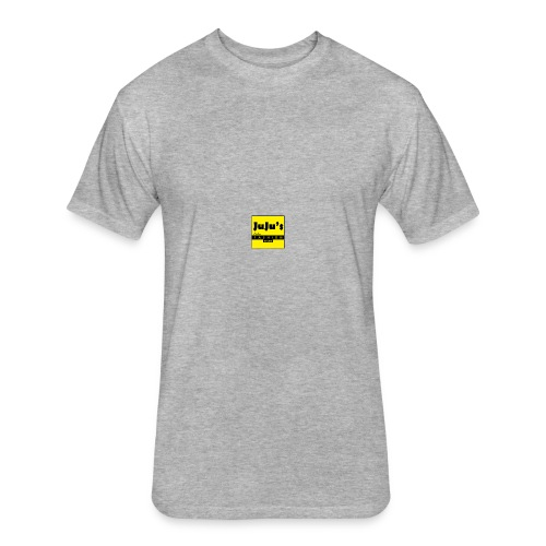 juju's fashion store - Fitted Cotton/Poly T-Shirt by Next Level