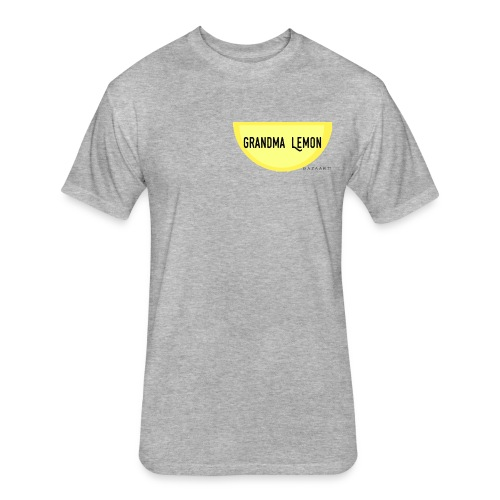 Grandma Lemon - Fitted Cotton/Poly T-Shirt by Next Level