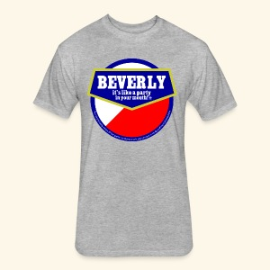 beverly - Fitted Cotton/Poly T-Shirt by Next Level
