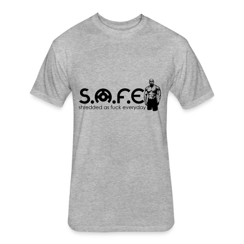 S.A.F.E (Sherdded Brand) - Fitted Cotton/Poly T-Shirt by Next Level