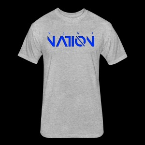 F3AR NATION - Fitted Cotton/Poly T-Shirt by Next Level