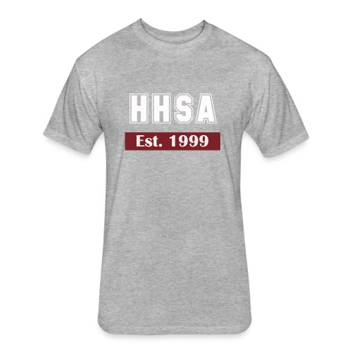 Established in 1999 - Fitted Cotton/Poly T-Shirt by Next Level