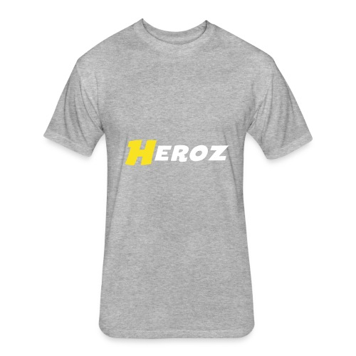 Heroz - Fitted Cotton/Poly T-Shirt by Next Level