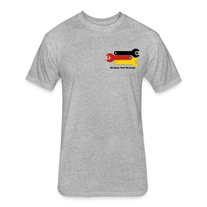 GTR Official Logo - Small - Fitted Cotton/Poly T-Shirt by Next Level