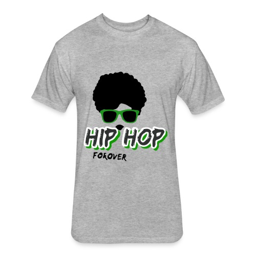 hiphop - Fitted Cotton/Poly T-Shirt by Next Level