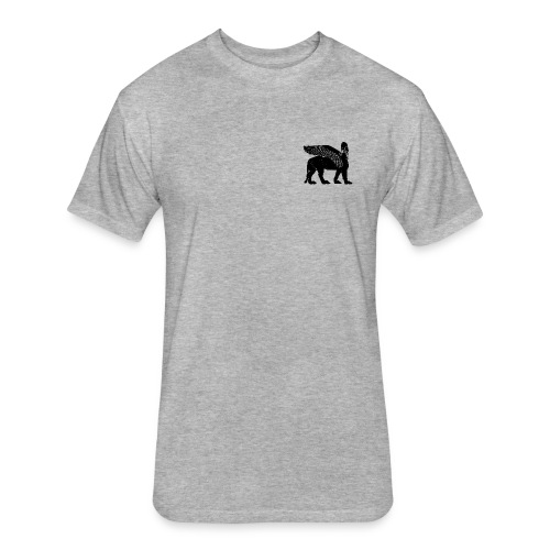 Lamassu - Fitted Cotton/Poly T-Shirt by Next Level