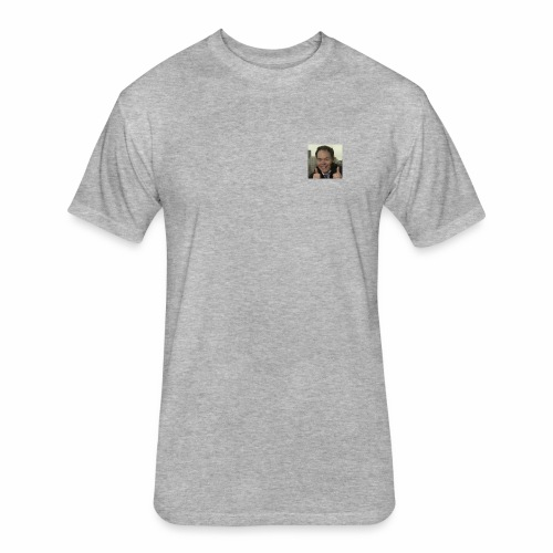 Max KIESER - Fitted Cotton/Poly T-Shirt by Next Level