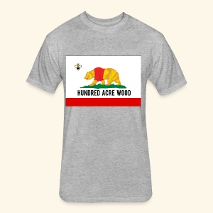 Golden Honey State - Fitted Cotton/Poly T-Shirt by Next Level
