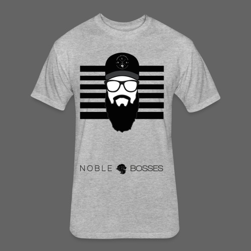 Noble Bosses - Fitted Cotton/Poly T-Shirt by Next Level