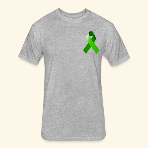 Lymphoma Awareness - Fitted Cotton/Poly T-Shirt by Next Level