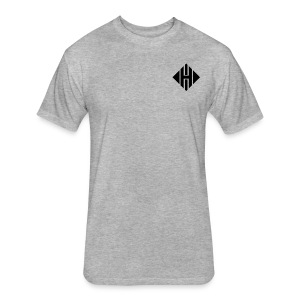 Hypnotic logo - Fitted Cotton/Poly T-Shirt by Next Level