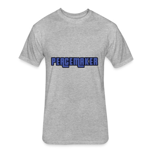 Peacemaker Design T-shirts, Hoodies, Tote Bags - Fitted Cotton/Poly T-Shirt by Next Level
