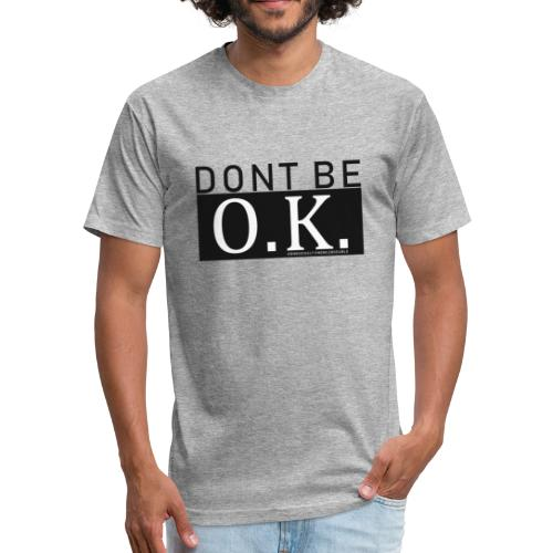 OK Guy - Fitted Cotton/Poly T-Shirt by Next Level