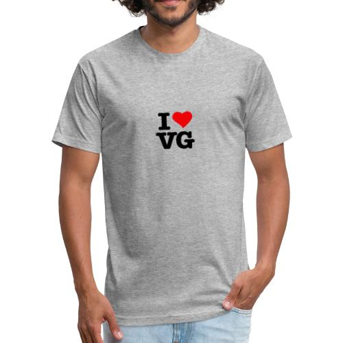 ILOVEVG - Fitted Cotton/Poly T-Shirt by Next Level