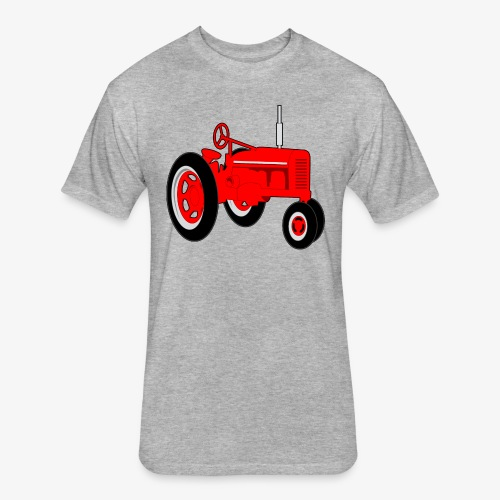 tracktor - Fitted Cotton/Poly T-Shirt by Next Level