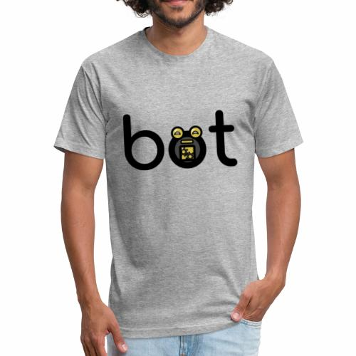 Bot - Fitted Cotton/Poly T-Shirt by Next Level