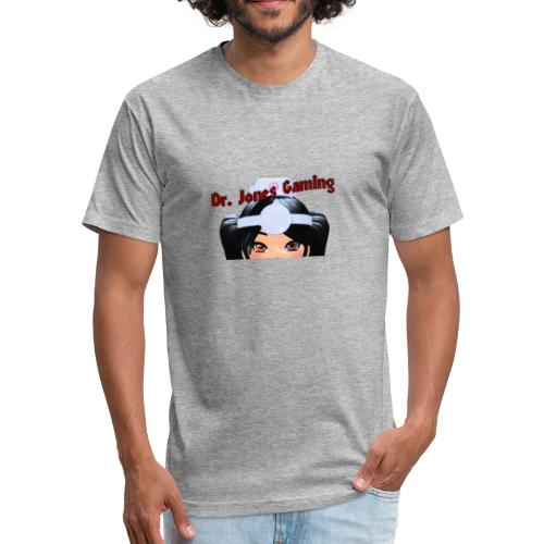 Peek a boo! - Fitted Cotton/Poly T-Shirt by Next Level