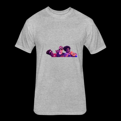 Squad - Fitted Cotton/Poly T-Shirt by Next Level