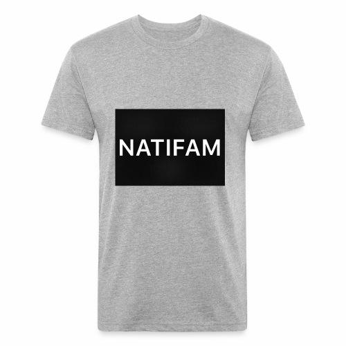 29C2B4B4 7888 45AE 90C9 EDE46B5D9082 - Fitted Cotton/Poly T-Shirt by Next Level
