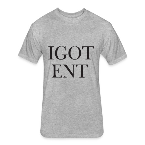IGOTBaskervillFont - Fitted Cotton/Poly T-Shirt by Next Level