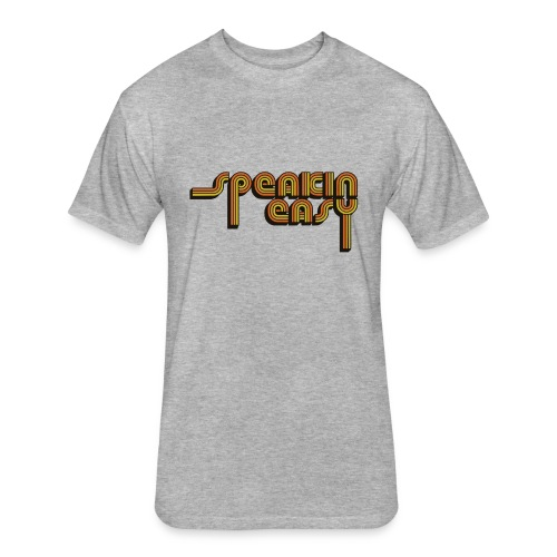 Speakin' Easy Retro Logo - Fitted Cotton/Poly T-Shirt by Next Level
