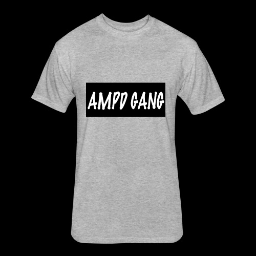 AMPD GANG HOODIE - Fitted Cotton/Poly T-Shirt by Next Level