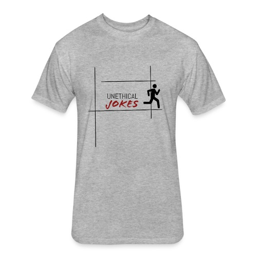 Runaway - Fitted Cotton/Poly T-Shirt by Next Level