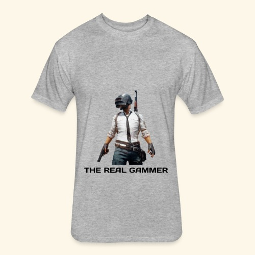 PUBG MOBILE DESIGN T-SHIRT - Fitted Cotton/Poly T-Shirt by Next Level