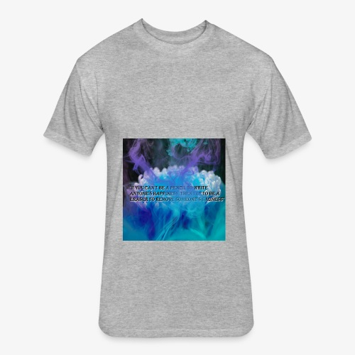 Be in example - Fitted Cotton/Poly T-Shirt by Next Level