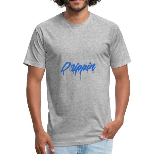 Drippin - Fitted Cotton/Poly T-Shirt by Next Level