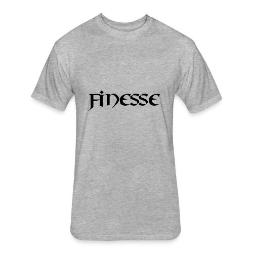 MyFinesse Tee - Fitted Cotton/Poly T-Shirt by Next Level