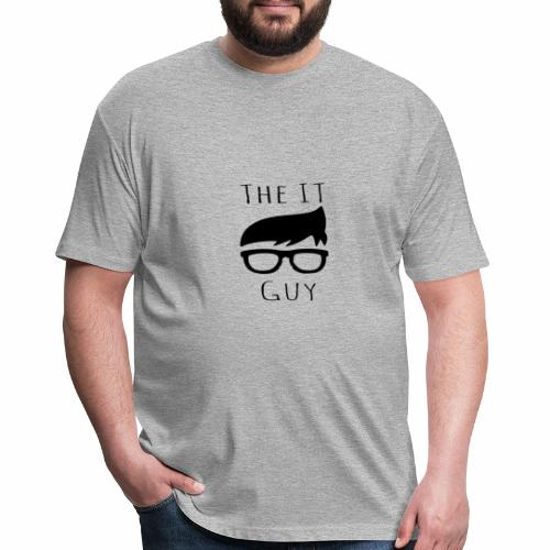 The IT Guy - Fitted Cotton/Poly T-Shirt by Next Level