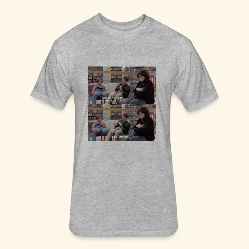 The Breakfast Club, Brian - Fitted Cotton/Poly T-Shirt by Next Level