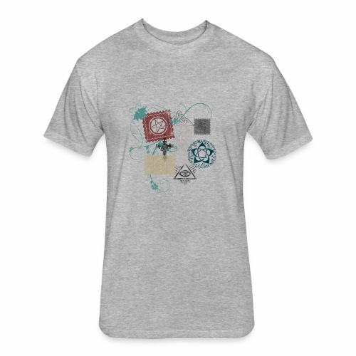 Wicca Stamp - Fitted Cotton/Poly T-Shirt by Next Level