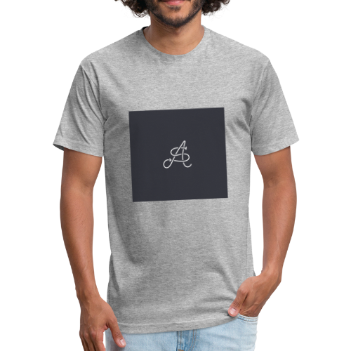 Saurin Alouf logo - Fitted Cotton/Poly T-Shirt by Next Level