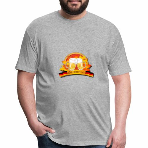 oktoberfest - Fitted Cotton/Poly T-Shirt by Next Level
