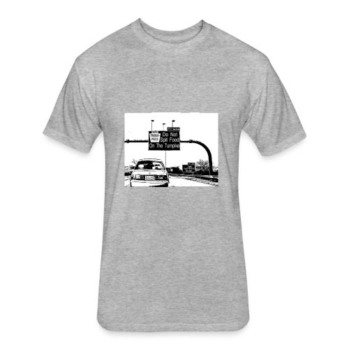Turnpike - Fitted Cotton/Poly T-Shirt by Next Level