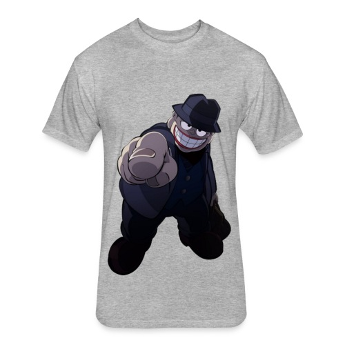 The Laughing Salesman - Fitted Cotton/Poly T-Shirt by Next Level