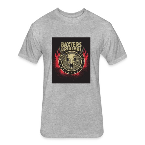 Baxters Original Tshirt Bullhorn - Fitted Cotton/Poly T-Shirt by Next Level