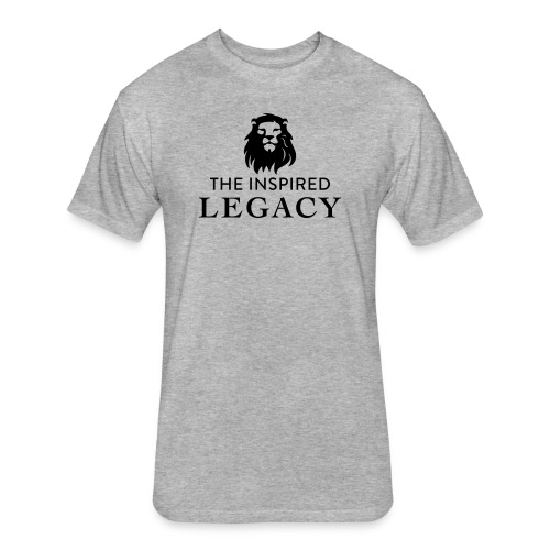 The Inspired Legacy Lion Head - Fitted Cotton/Poly T-Shirt by Next Level