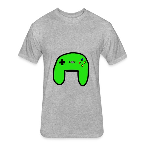 Brock's Game Controller - Fitted Cotton/Poly T-Shirt by Next Level
