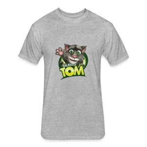 Talking_TOM_wave_preview_lowRes - Fitted Cotton/Poly T-Shirt by Next Level