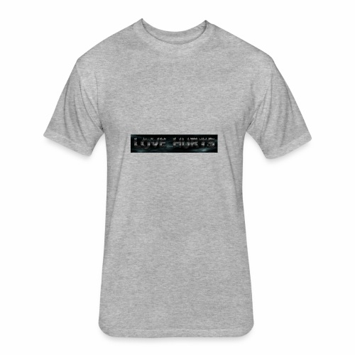 coollogo com 2431587 - Fitted Cotton/Poly T-Shirt by Next Level