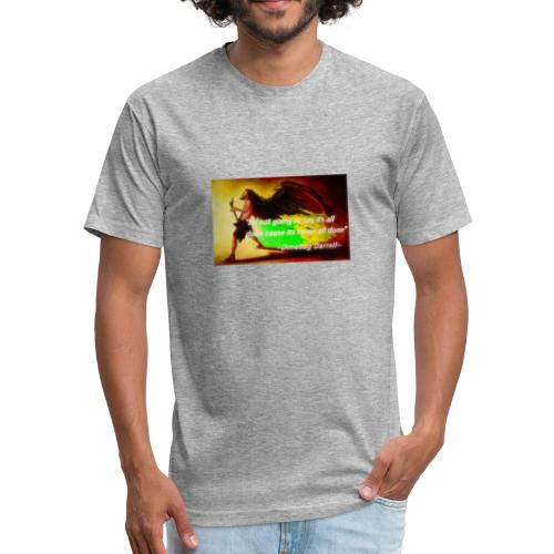 Dimebag Darryll Shredding - Fitted Cotton/Poly T-Shirt by Next Level