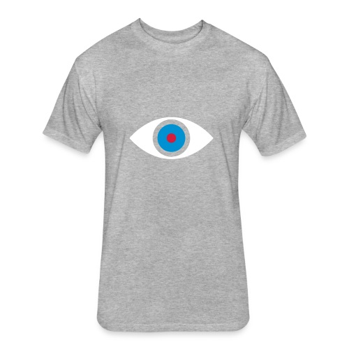 Eye - Fitted Cotton/Poly T-Shirt by Next Level