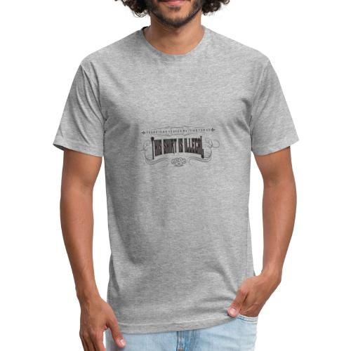 illegal gotic2o - Fitted Cotton/Poly T-Shirt by Next Level