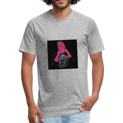 getter by grime killer da8ersa - Fitted Cotton/Poly T-Shirt by Next Level