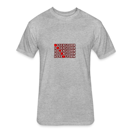 Hoxen- Tee - Fitted Cotton/Poly T-Shirt by Next Level